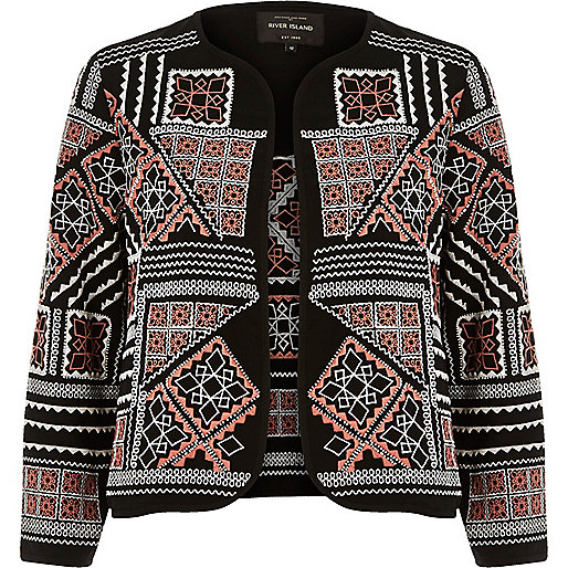 River Island Embroidered Jacket
